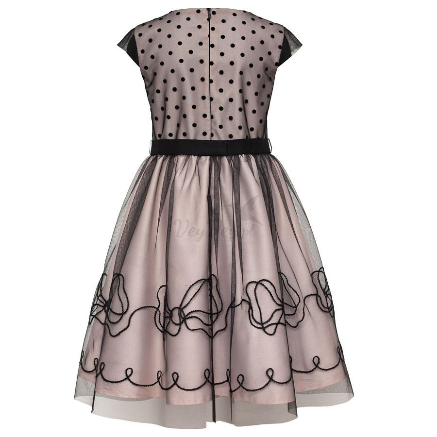 96cfb80063 ... Dziewczęca sukienka weselno-świąteczna-karnawałowa ...